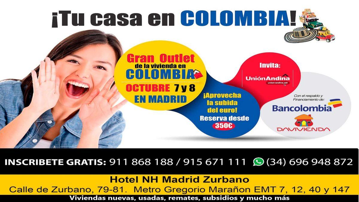 Feria de la vivienda colombiana en Madrid 2017