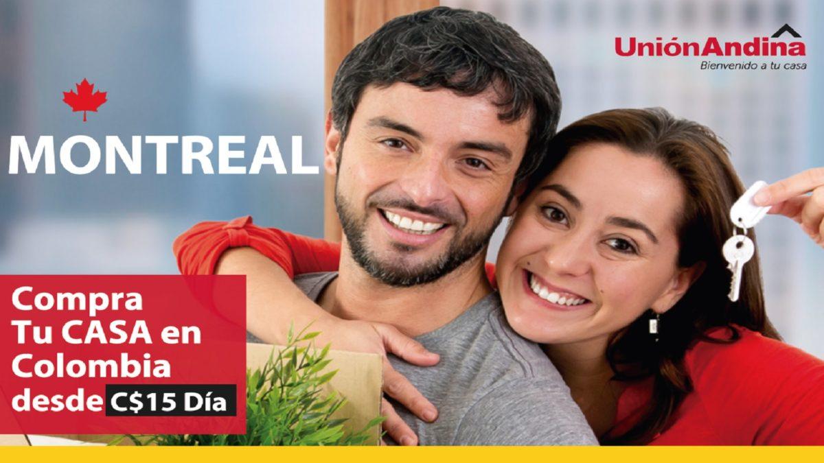 Compra tu casa en Colombia desde Montreal union andina