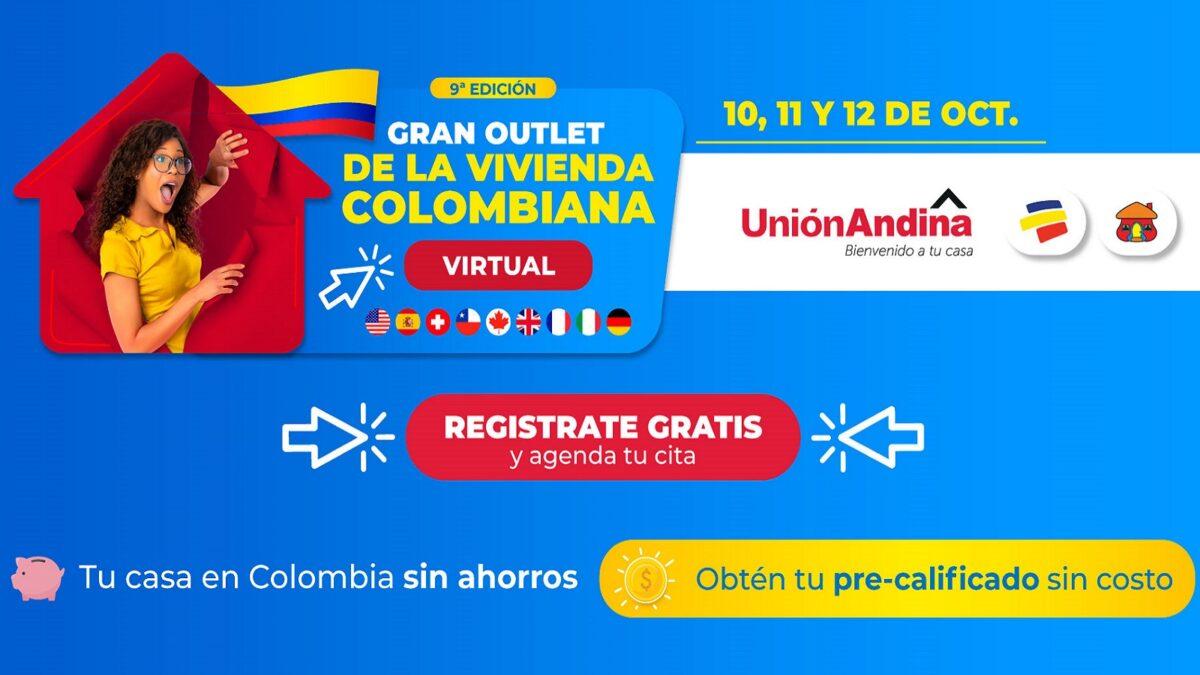 gran outlet de la vivienda colombiana virtual union andina