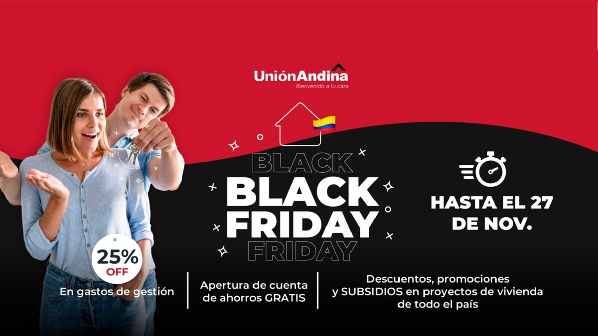 black friday unión andina colombia